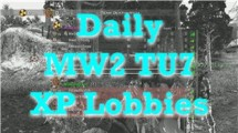 MW2: Modern Warfare 2 Mods – TU7 Daily XP Lobbies Want to get in a lobby? Check out THE CALENDAR for more information! Shoutz to TefJuan for the sexXxy jam!...