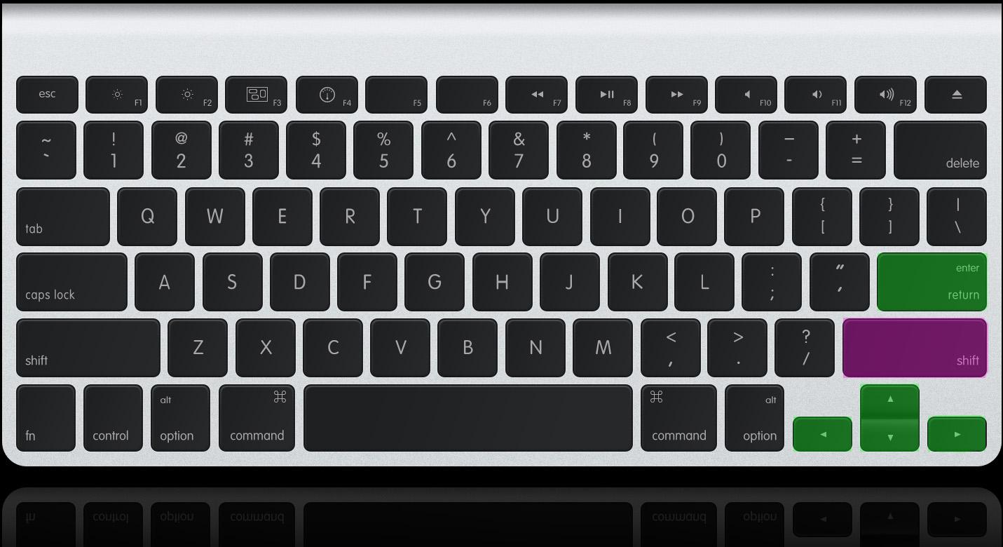 reflex-keyboard